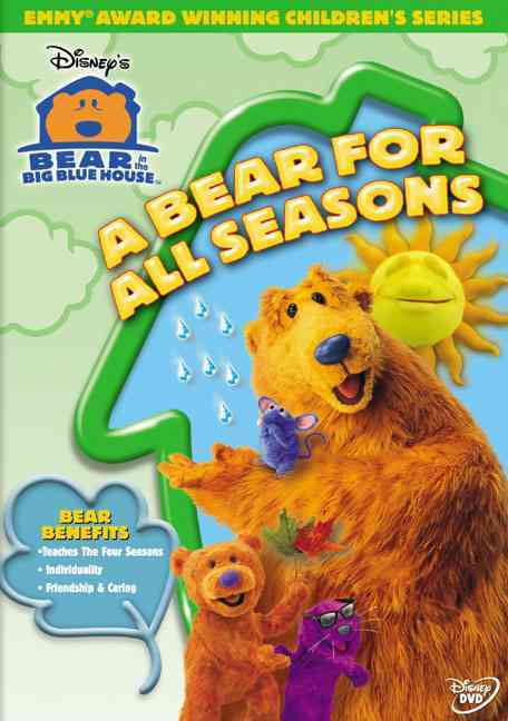 BEAR IN THE BIG BLUE HOUSE:BEAR FOR A BY BEAR IN THE BIG BLUE (DVD)